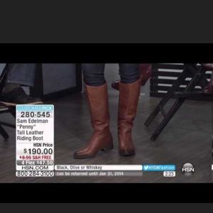 """Sam Edelman Shoes - Sam Edelman """"penny"""" riding boots gently used"""